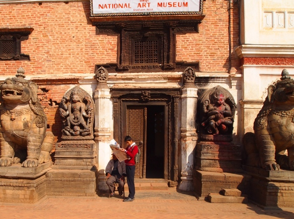 entrance to the Royal Palace