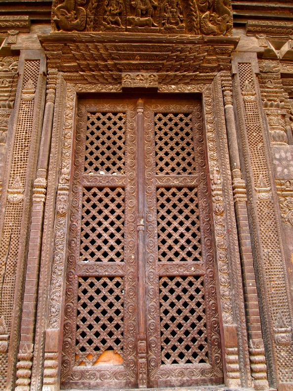 Door on Pashupati Mandir