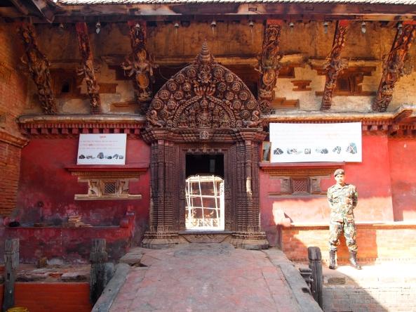 the door to Naga Pokhari