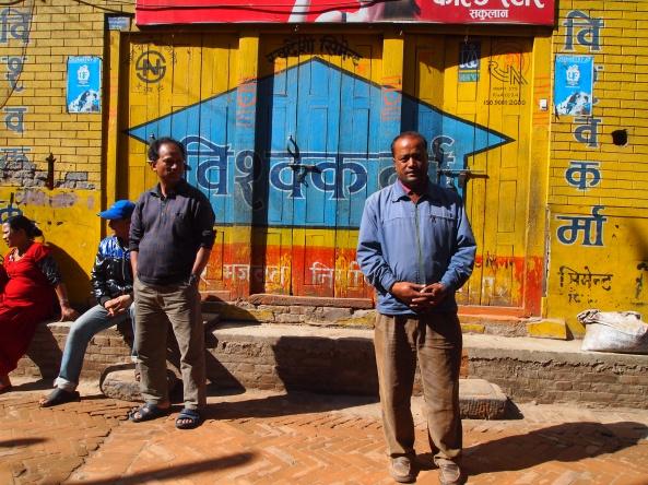 my guide in Bhaktapur: Batu