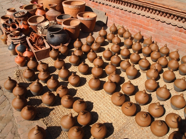 Pottery at Potter's Square