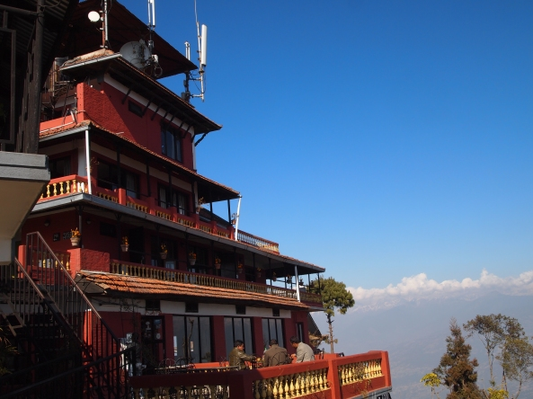 Hotel View Point and the Langtang Range