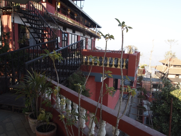 Hotel View Point balconies