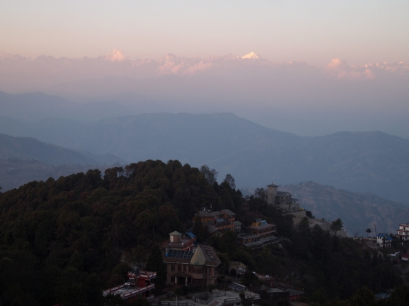 sunset at Nagarkot