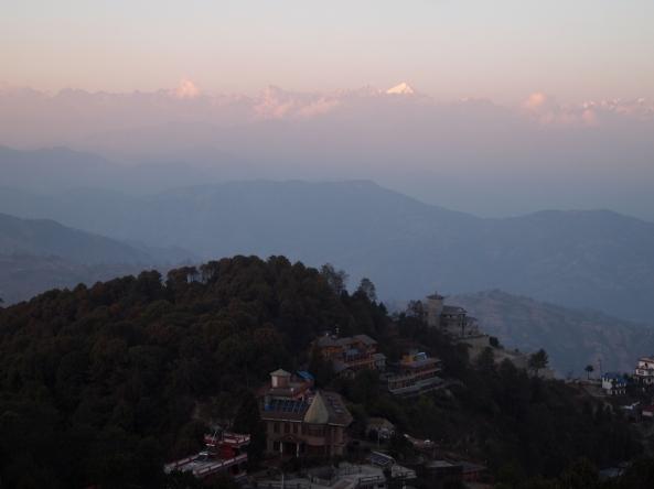 sunset at Nagarkot