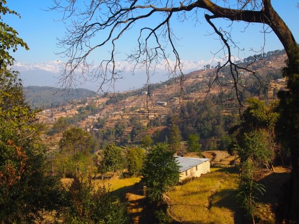 the Central Hills and Himalayas of Nepal