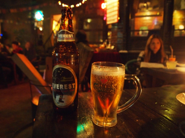 Everest Beer at New Orleans Cafe
