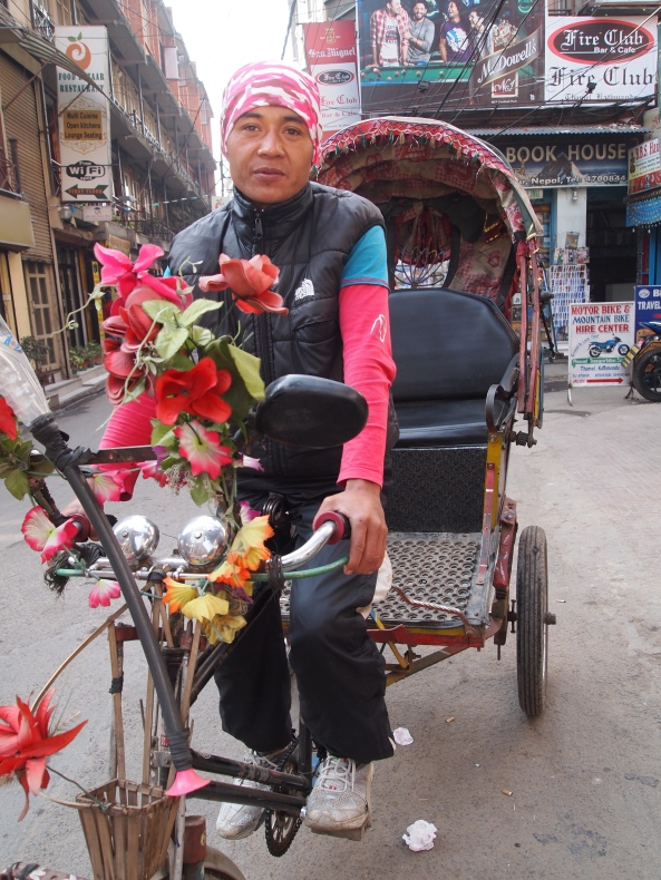My rickshaw driver