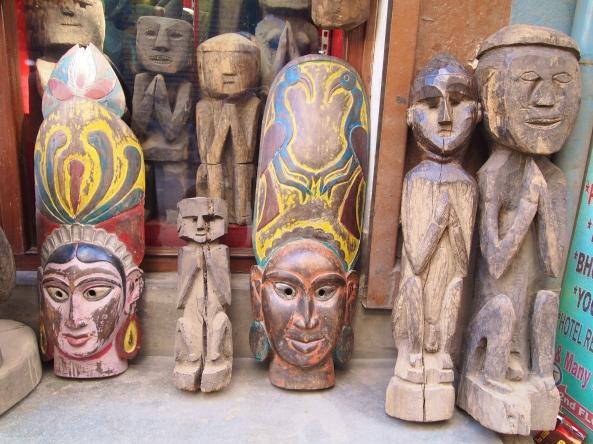 old wood carvings