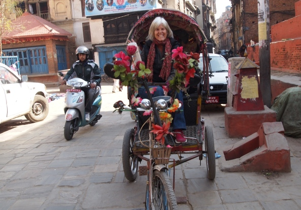 me in the rickshaw