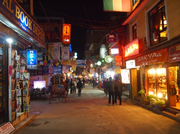 good night and farewell to Thamel