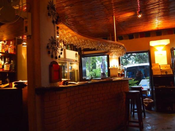 the bar at Moondance