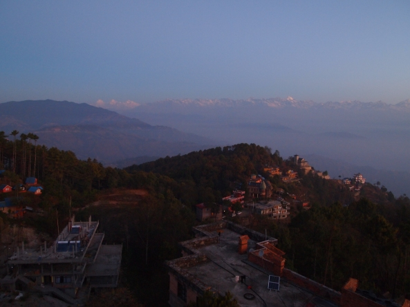 Sunrise at Nagarkot