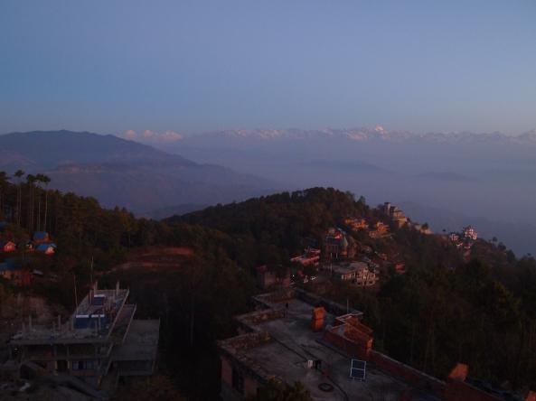 Sunrise at Nagarkot