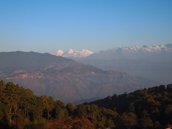 the mountains in full daylight  :-)